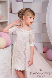 Cute bridesmaid dresses for little girls ideas 8